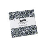 Geometry : Charm Pack - (42) 5x5 squares - Janet Clare