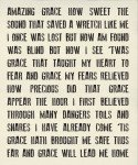 Printworks : Amazing Grace Canvas Panel - 54 x 65 - #5763-11P - By Sweetwater