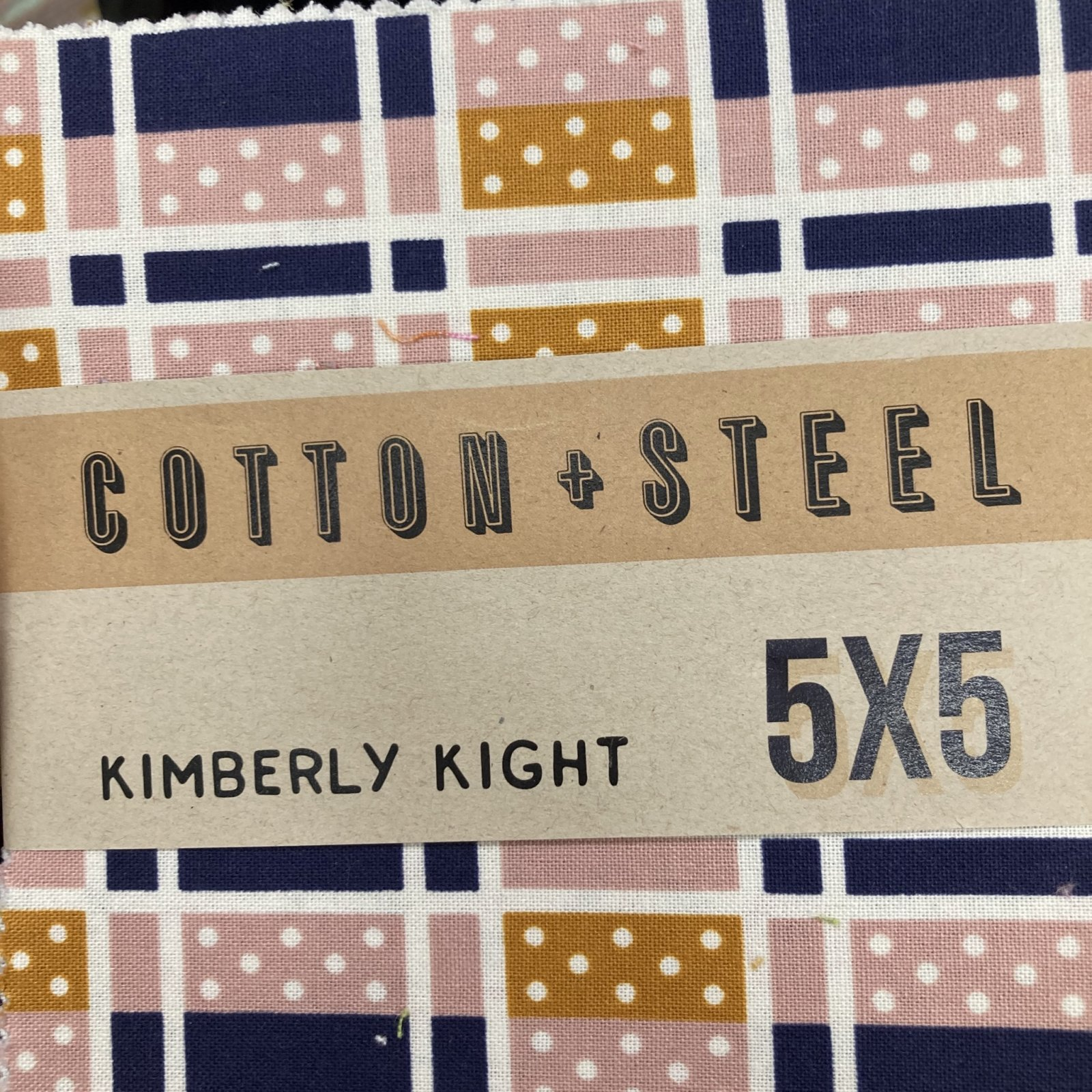 Cotton + Steel Lucky StrikeCharm Pack 18 PCSKim Knight