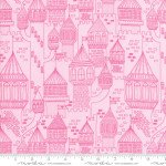 Once Upon A Time - Castle On The Hill Pink Slipper - #20595-12 - By Stacy lest Hsu