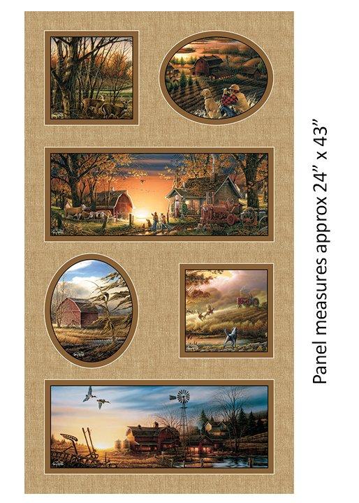 Homestead Retreat : 24 Nature Panel - #2108-72 Terry Redlin (#204)