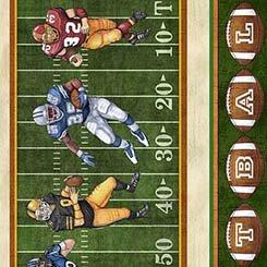 Gridiron - Football Decorative Stripe - #26172-G