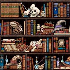 Spellbound - Wizard Library - Black