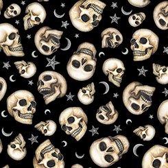 Spellbound - Skulls - Black