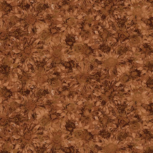 Pumpkin Patch - Whispering Sunflowers Russet - #02774-87