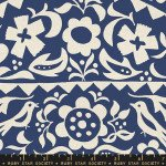 Alma : Market Floral Indigo - #RS4001-12 - By Alexia Abegg - Ruby Star Society