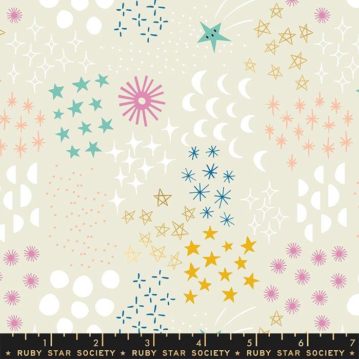 Stellar : Final Frontier Natural Metallic - #RS1007-11M - Rashinda Coleman Hale of Ruby Star Society