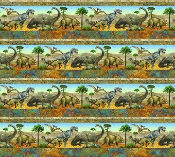 Stonehenge Prehistoric - Border Print - #39185-42 - By Linda Ludovico