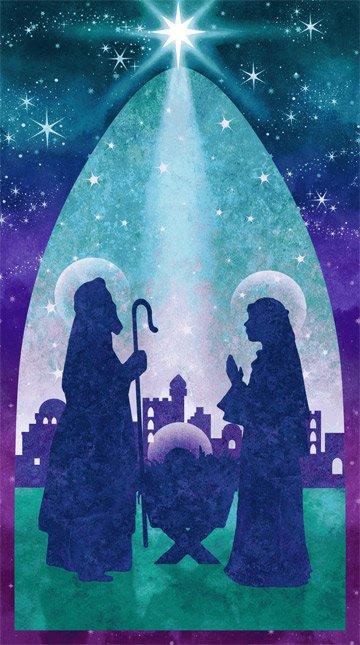 Joy To The World - Panel - #39391-68 - By Linda Ludovico - Stonehenge