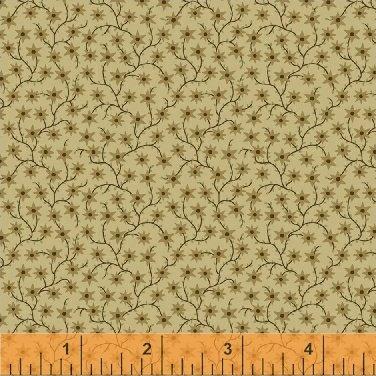 JJJ Backgrounds : Flower Vine Cream - #40215B-5 - J. Horton, J. Shaulis, & J. Hendricksen