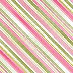 Sundance - Diagnol Stripe Pink/Green - #04784-24 - By Ann Lauer