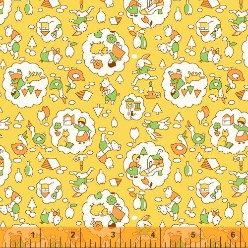 Storybook : Nursery Rhymes Yellow - #51978-4 - Whistler Studios