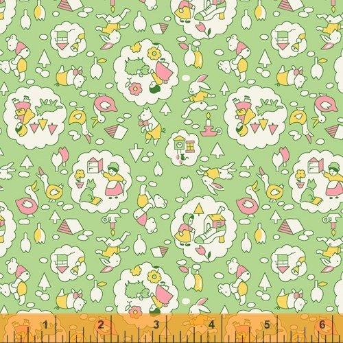 Storybook : Nursery Rhymes Green - #51978-6 - Whistler Studios