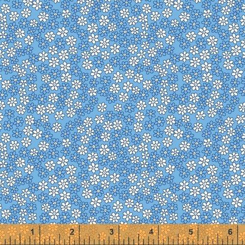 Storybook : Mini Daisies Blue - #51983-2 - Whistler Studios