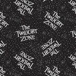 CBS Remake : The Twilight Zone Black - #63520101R-01 - Glow in the Dark