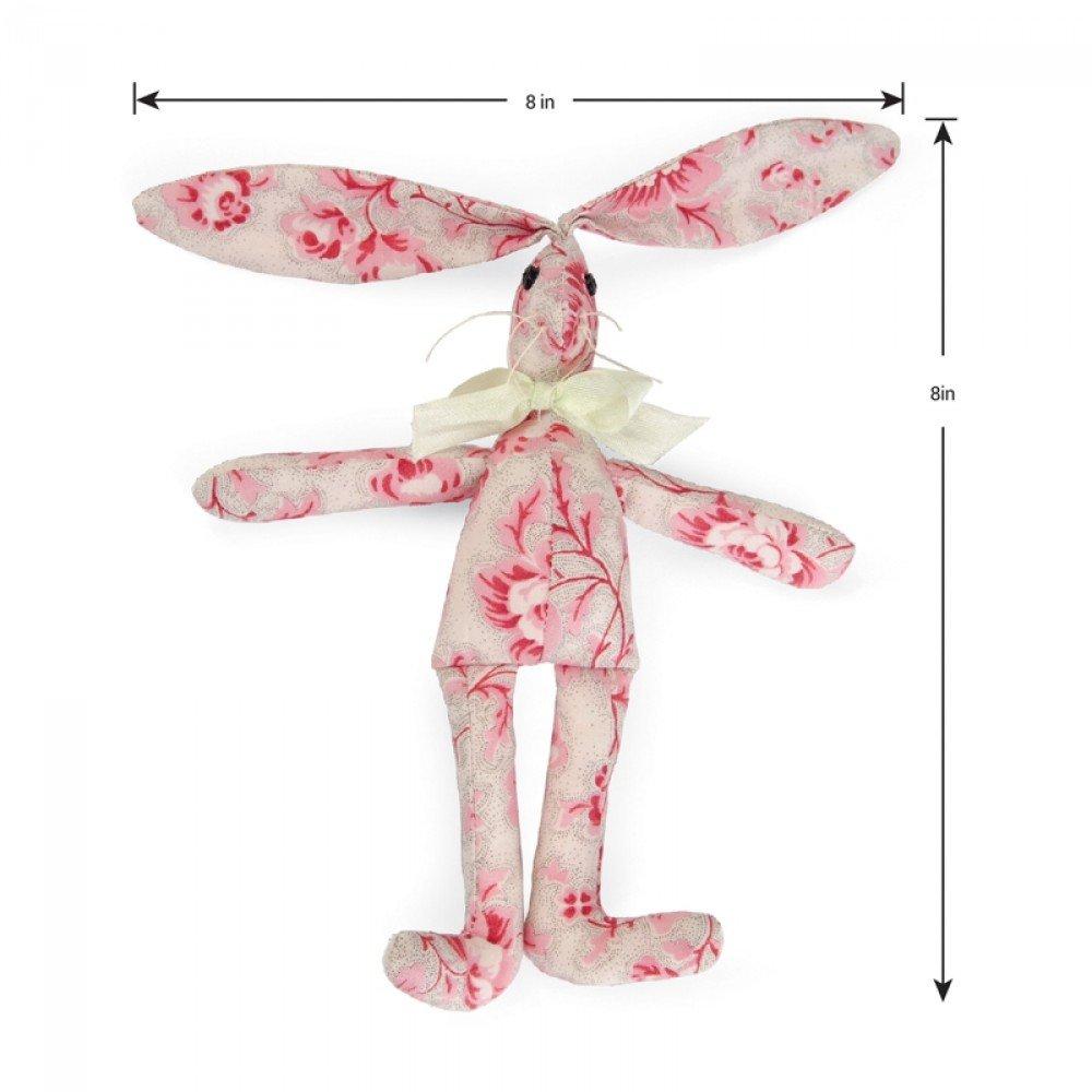 Doll Bunny - Sizzix Bigz L Die - by E.L. Smith