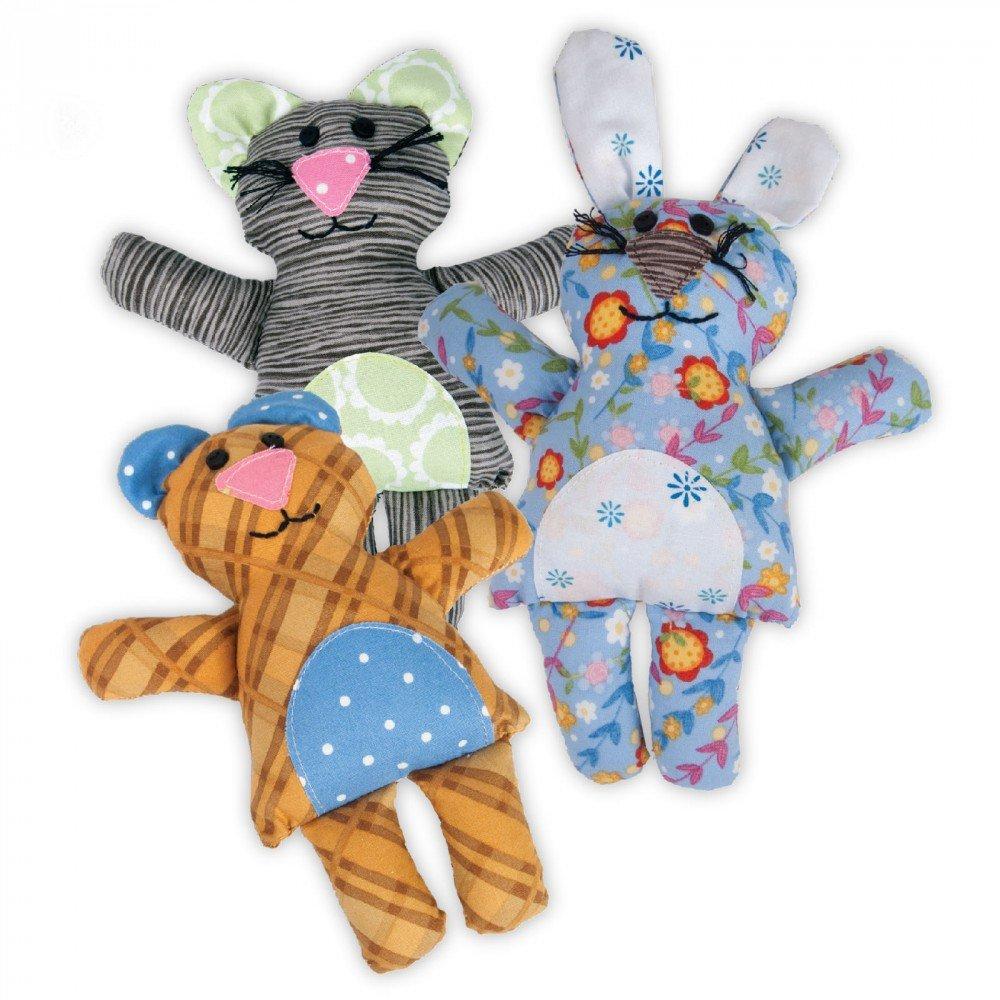 Bear/Bunny/Cat by Jennifer Jangles - Sizzix Bigz L Die
