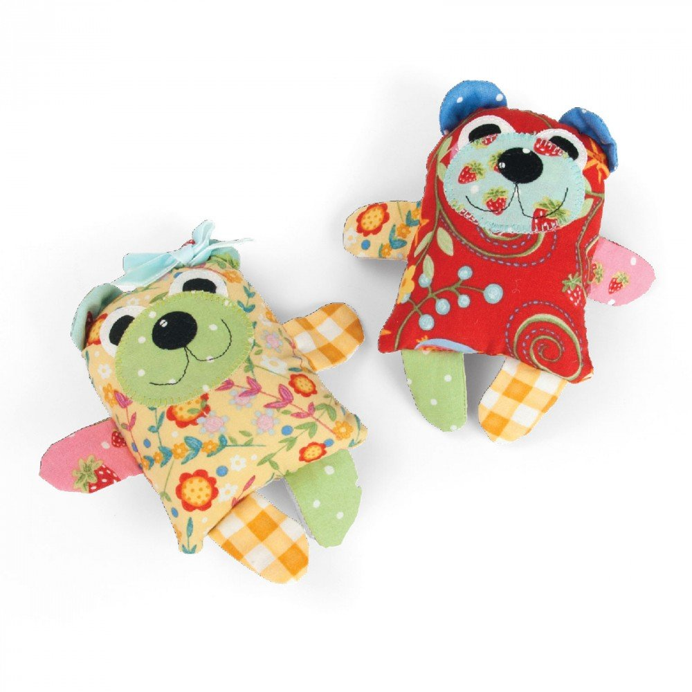 Maggie & Quincy (Small Bear) - Sizzix Bigz L Die