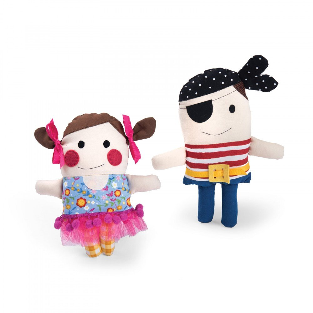 Pirate & Ballerina Dolls - Sizzix Bigz Plus Q Die - by JJ