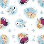 Frozen Alpine Wonder : Frozen Snowflakes White - #85190904-01 - Disney