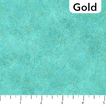 Shimmer Radiance : Lagoon Gold - #9050M-63 - By Deborah Edwards