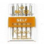80/12 Self Threading Universal Needles - 5ct - Klasse