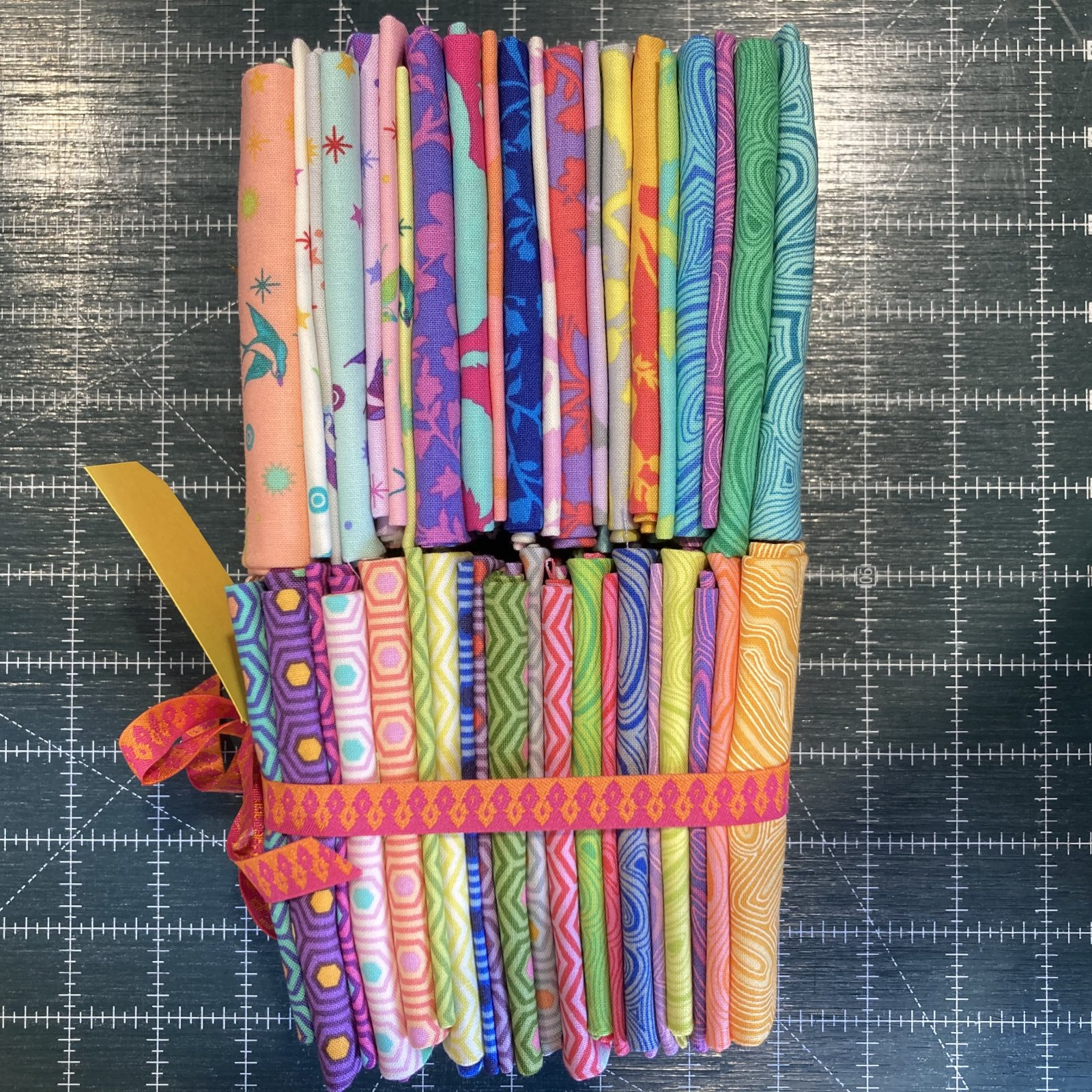 True Colors : Fat Eighth Bundle - 42 pieces - Tula Pink