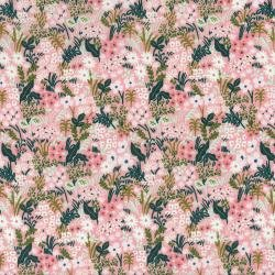 English Garden : Meadow - Pink - #8059-003 - By Rifle Paper Co. for Cotton & Steel