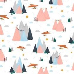 Summer Skies : Blush Mountain Skies - #AE200-BL3 - Alijt Emmens