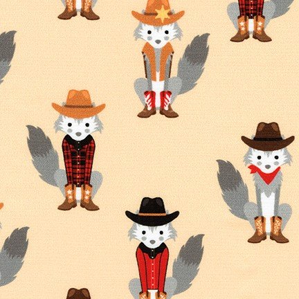 Coyote Cowboy - #AHED-18548-14 Natural - By Andie Hanna