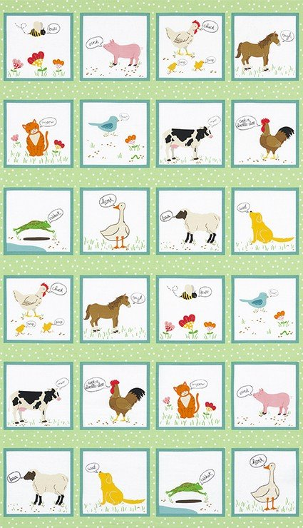 What Do The Animals Say - #ATK-18060-276 - By Katherine Lenius
