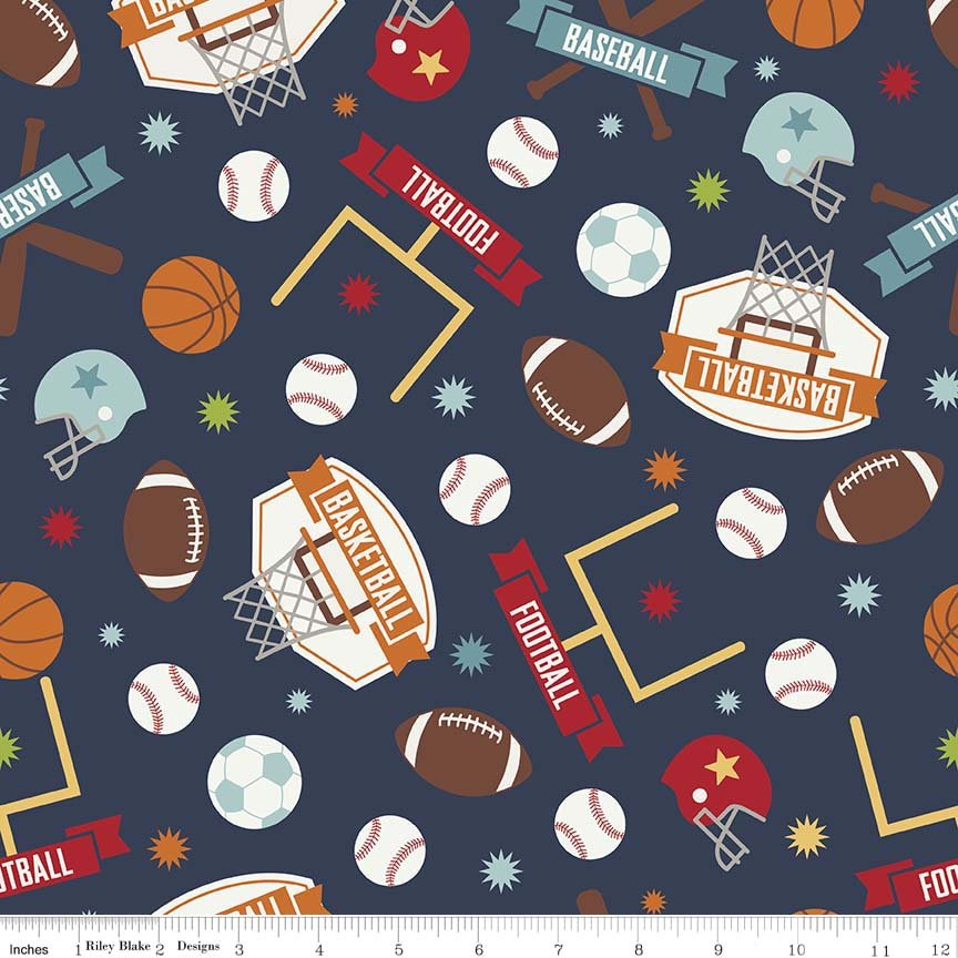 Game Day - #C5890-NAVY - By Lori Whitlock