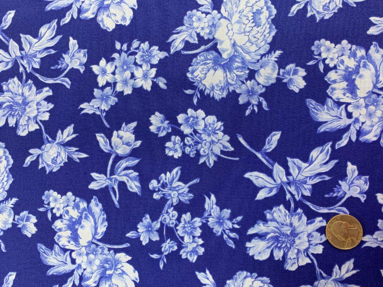 Fleur - #C6374-Blue