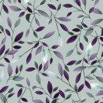Amethyst Garden : Viney Leaves Light Gray - #Y2786-5 - By Melissa Lowry