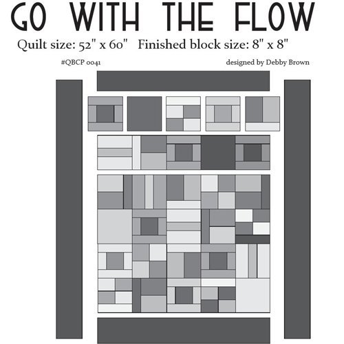 Go with the Flow - Cutie Pattern - Quilt Basket