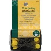 2 Flat Flower Fine Pins - 50ct - Dritz