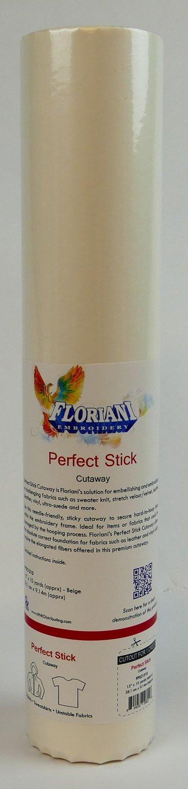 Floriani Perfect Stick Cutaway15 x 10 yards