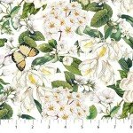 Bouquet : Packed Floral White/Multi - #DP23088-10 - By Michel Design Works