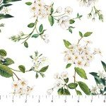 Bouquet : Floral Trail White/Multi - #DP23089-10 - By Michel Design Works