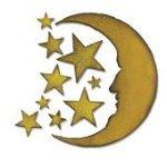 Cresent Moon & Stars - Tim Holtz - Sizzix Bigz Die