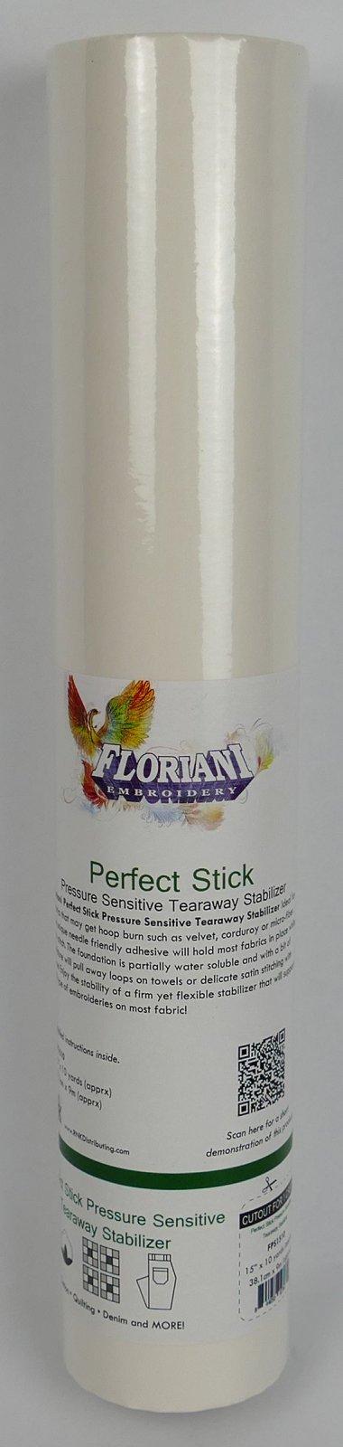 Perfect Stick Tearaway Stabilizer - 15 x 10 yards - Floriani