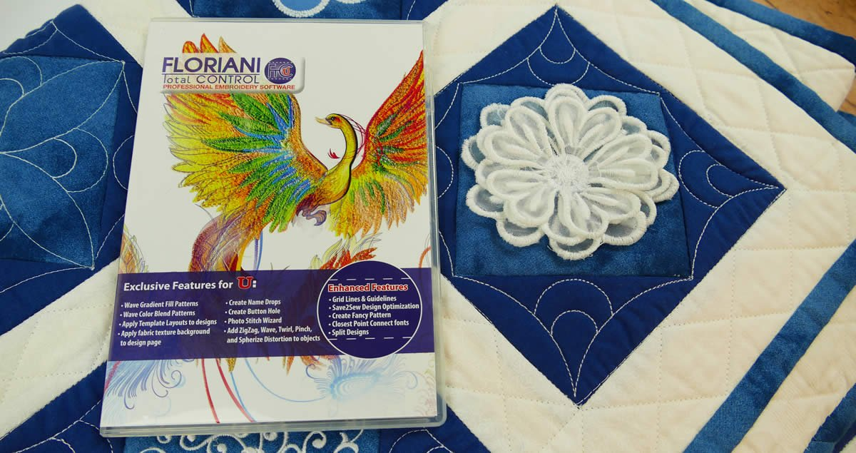 Floriani Total Control Professional Embroidery Software