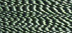 Black/White - #FU01 - 1,000m 40wt Mixed Rayon/Poly Embroidery Thread - Floriani