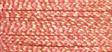 Coral/Sand - #FU13 - 1,000m 40wt Mixed Rayon/Poly Embroidery Thread - Floriani