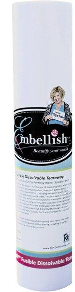 Fusible Dissolvable Tearaway - 20x10yds - Embellish