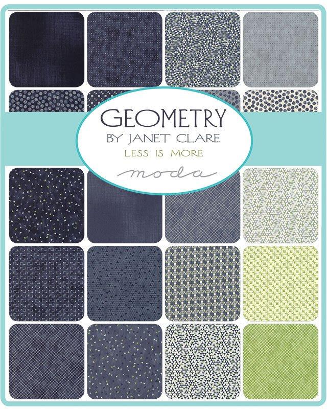 Geometry : Fatty Cake - (28) 10x1/2WOF - Janet Clare