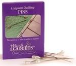2 Longarm Quilting Pins - 144 Pins - Pear Shaped White