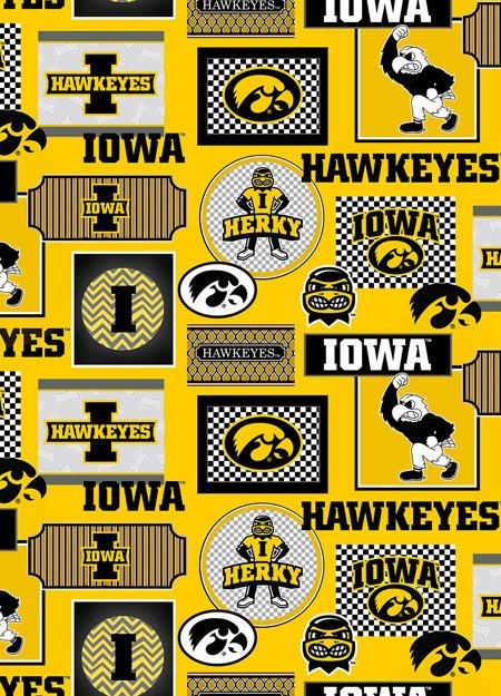 College Prints  - #IA-1130 - University Of Iowa