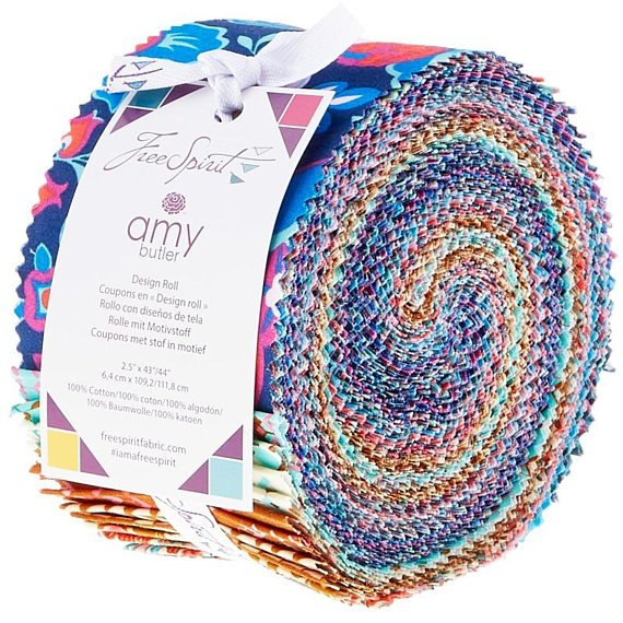Soul Mate 2.5 Design Roll - 40Pc - By Amy Butler