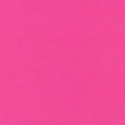 Kona Solid : Bright Pink - #1049